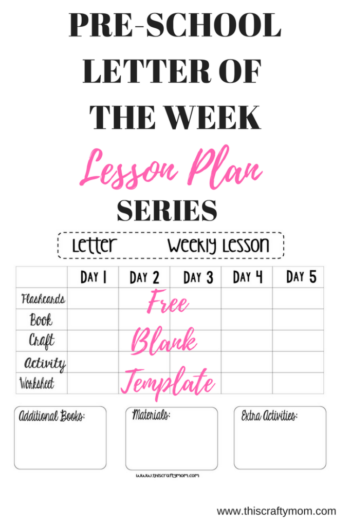 letter recognition lesson plan letter and sound recognition free weekly lesson plan 18820 | LETTER OF THE WEEK 683x1024