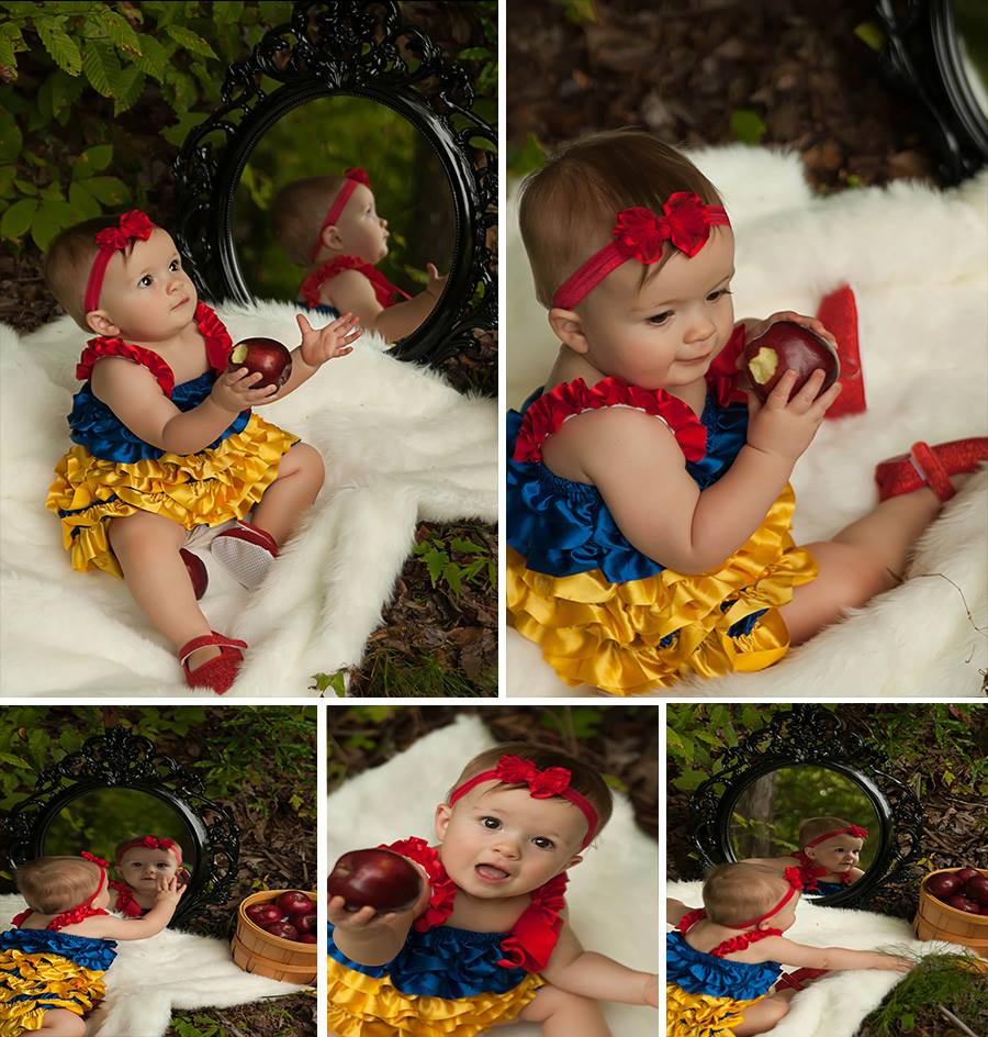 Snow White First Birthday Party This Crafty Mom